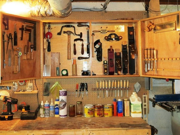 Seven Different Methods for Tool Storage