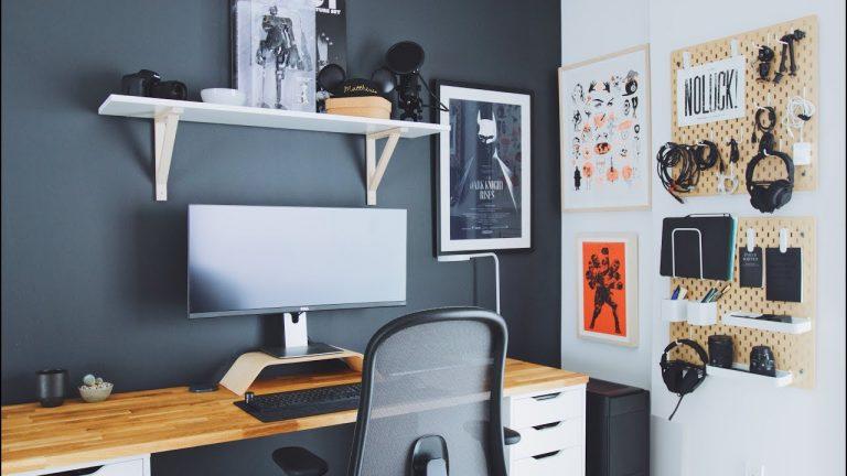 Home Office Desk Building Tutorial